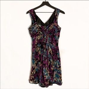 Laundry by Shelli Segal | Abstract Silk Dress 6